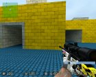 Winter Camo Gloves для Counter-Strike Source вид сверху