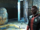 Black and Red Vaultsuit для Fallout 4 вид слева