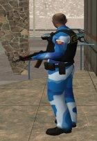 Русский охранник for GTA San Andreas top view
