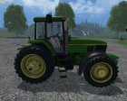 John Deere 7810 for Farming Simulator 2015 left view