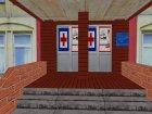 Обновленный медицинский центр for GTA San Andreas left view