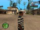 "Футболка ""Моряк"" для GTA San Andreas вид сверху"