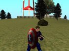 Капитан Америка без маски для GTA San Andreas вид изнутри