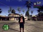 Slipknot куртка for GTA San Andreas left view