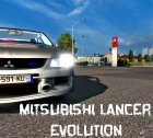 Mitsubishi Lancer Evolution 1.1 for Euro Truck Simulator 2 left view