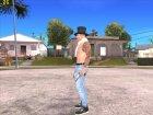 Skin HD GTA V Online 2015 в цилиндре для GTA San Andreas вид сбоку