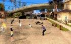 Проект Х на Grove Street for GTA San Andreas left view