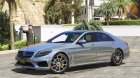 Mercedes-Benz S63 AMG W222 2.6 for GTA 5 rear-left view