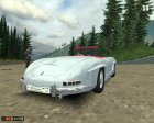 Mercedes-Benz 300SL Roadster для Mafia: The City of Lost Heaven вид сзади слева