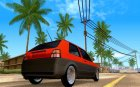 Volkswagen Golf II Freedom for GTA San Andreas top view