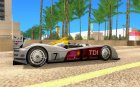 Audi R10 TDI for GTA San Andreas inside view