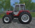 Massey Ferguson 698T FL for Farming Simulator 2015 top view