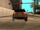 Nissan Qashqai 2016 для GTA San Andreas вид сверху