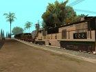 Пак реальных поездов V.1 от VONE для GTA San Andreas вид изнутри