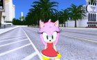 Amy Rose (from GTA Sonic IV Mod)