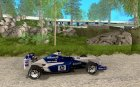 BMW F1 Williams для GTA San Andreas вид изнутри