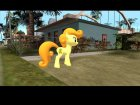 Carrot Top (My Little Pony) for GTA San Andreas inside view