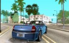 Chrysler 300C Roadster BETA для GTA San Andreas вид сзади слева