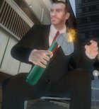 Коктейль молотова из Max Payne 2 for GTA 4 left view