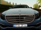 Mercedes-Benz E350 2016 для GTA San Andreas вид сзади слева