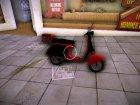 Pizza Boy из GTA IV для GTA Vice City вид сзади слева