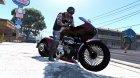 Honda CB750 Bagger 1.0 для GTA 5 вид сбоку