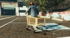 Shopping Cart - Trolley - Fun Vehicle  for GTA 5 left view