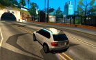 BMW X5 E70 for GTA San Andreas rear-left view