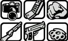 HD иконки оружия из GTA SA Mobile for GTA San Andreas rear-left view