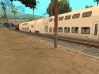 Пак реальных поездов V.2 от VONE для GTA San Andreas вид сзади