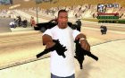 The Micro Uzi from GTA V