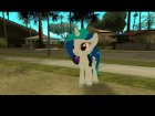 DJ Pon-3 (My Little Pony) for GTA San Andreas rear-left view