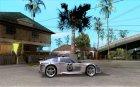 Chevrolet Corvette C6 Police Рядовой (NFS MW) для GTA San Andreas вид изнутри