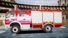Mercedes-Benz Atego 1530 Firetruck for GTA 4 inside view
