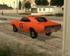 Dodge Charger General Lee for GTA San Andreas inside view