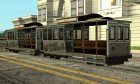 Tram with the logo of the website gamemodding.net для GTA San Andreas вид слева