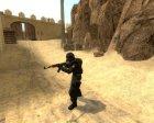 Umbrella Mercenary for Counter-Strike Source inside view