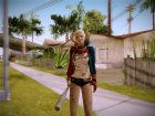 Harley Quinn - Suicid Squad (Injustice) для GTA San Andreas вид слева