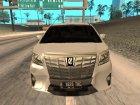 2015 Toyota Alphard 3.5G V.2 для GTA San Andreas вид изнутри