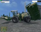 Krone Big M500 ATTACH V 1.0 для Farming Simulator 2015 вид слева
