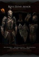 Noldor Content Pack - Нолдорское снаряжение 1.02 для TES V Skyrim вид сбоку