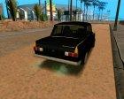 ИЖ 412 Korchevoi для GTA San Andreas вид сверху