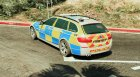 Met Police BMW 525D F11 (ANPR Interceptor) 1.1 для GTA 5 вид слева