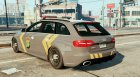 Audi A4 Indonesian Police Patrol for GTA 5 left view