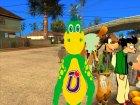Персонажи мультфильмов для GTA San Andreas вид изнутри