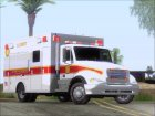 Freightliner M2 Chassis SACFD Ambulance for GTA San Andreas left view