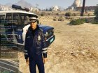 Russian Traffic Officer Dark Blue Jacket