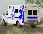 Ambulance - Metro Hospital for GTA San Andreas side view