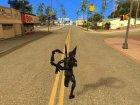 Марвел Битва Будущего Жёлтый жакет для GTA San Andreas вид сзади слева
