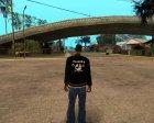 "Куртка с футболкой снизу ""Raiders"" for GTA San Andreas left view"